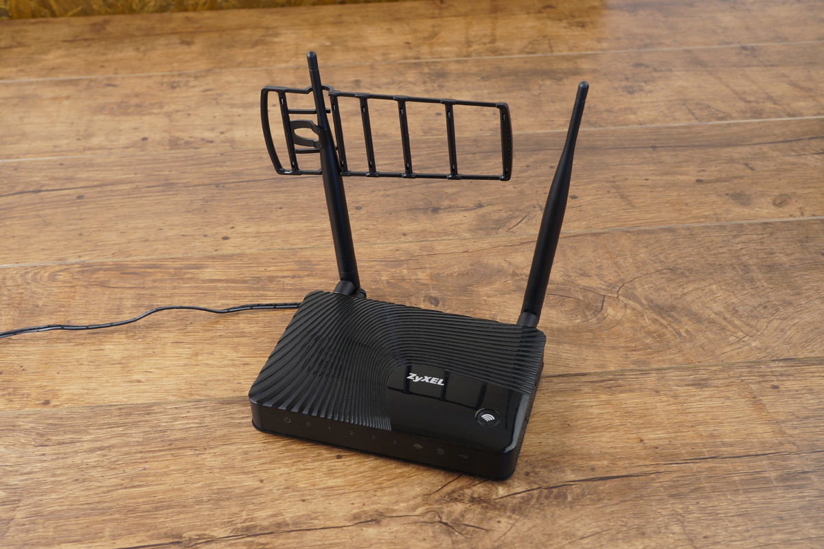 Test of Directional Antenna for WiFi Ladder Router